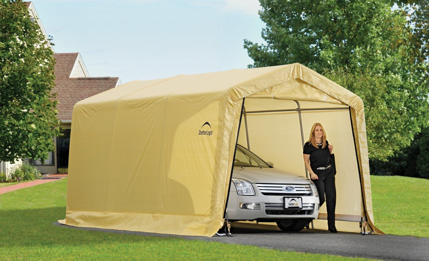 10 X 20 Feet New Auto Shelter And Portable Garage