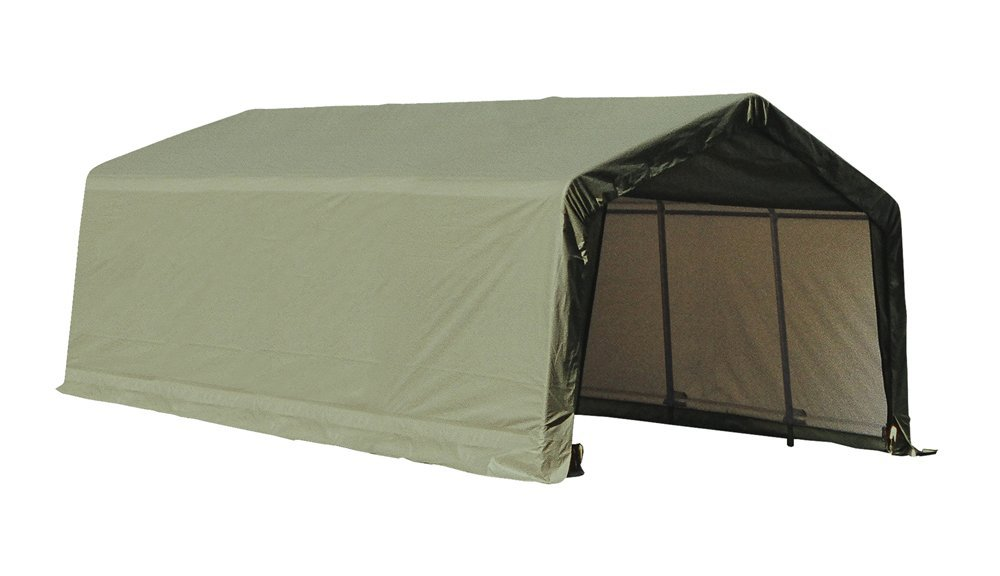 12 X 20 X 8 Ft Instant Garage Heavy Duty Canopy Carport
