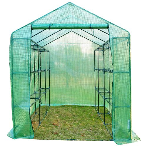 Portable Indoor Greenhouse : Outsunny  outdoor portable walk in greenhouse