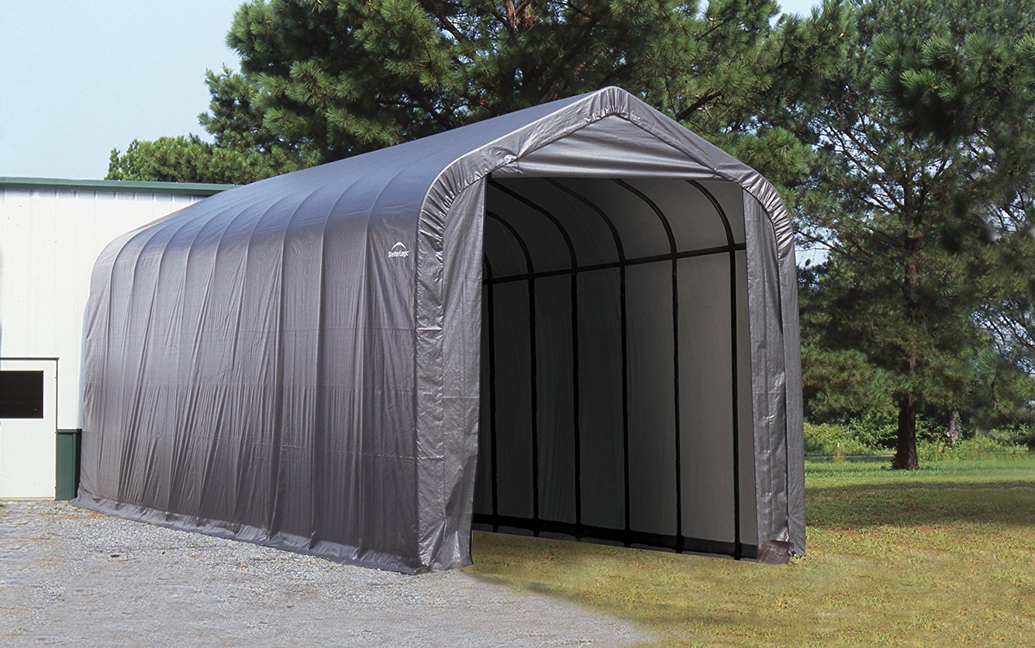 Peak Style Boat And RV Portable Garage Storage Shed