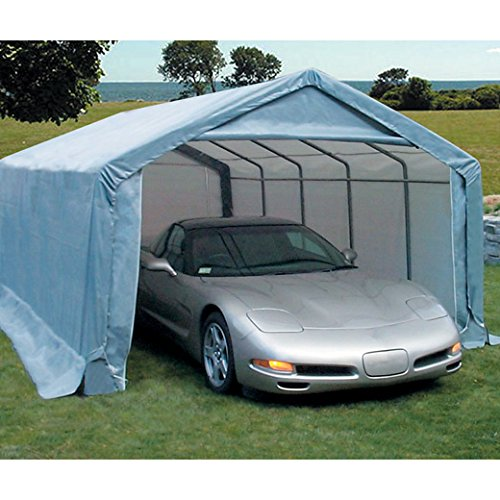 Instant Garage Car Covers : Mdm shelters portable garages instant garage car cover