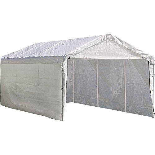 Purchase Shelterlogic 20 20 Blue Canopy : Shelterlogic feet canopy enclosure kit fits