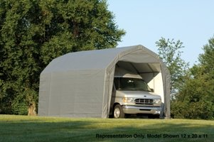 All Weather Portable Barn Garage and Shelter In Two Sizes