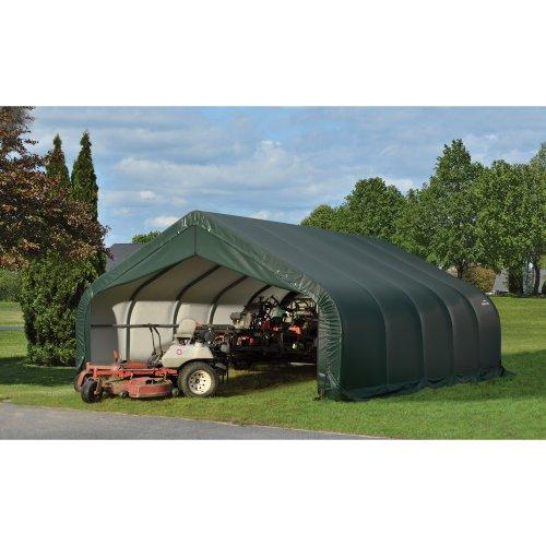 All-Weather Peak Style Garage/Storage Shelter